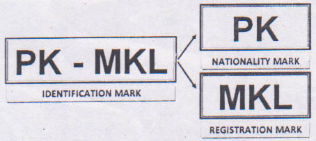 Identification mark