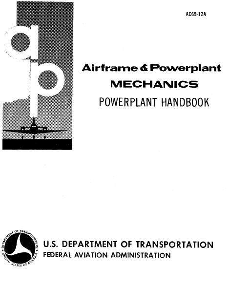 -LARGE AC- Airframe and Powerplant Mechanics Powerplant Handbook